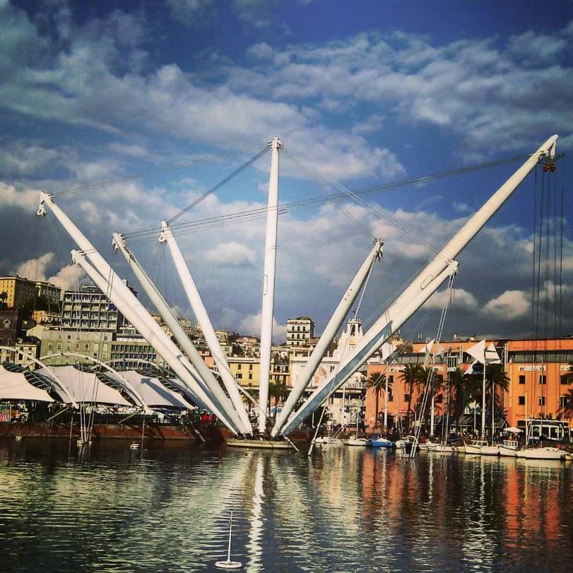 Porto antigo de Genova Foto:Marcia Bezerra