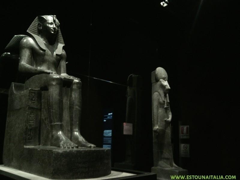 Estatura de Ramsés II, foto de Marcia Bezerra