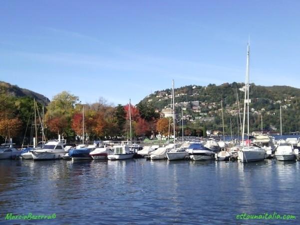 Outono no Lago de Como