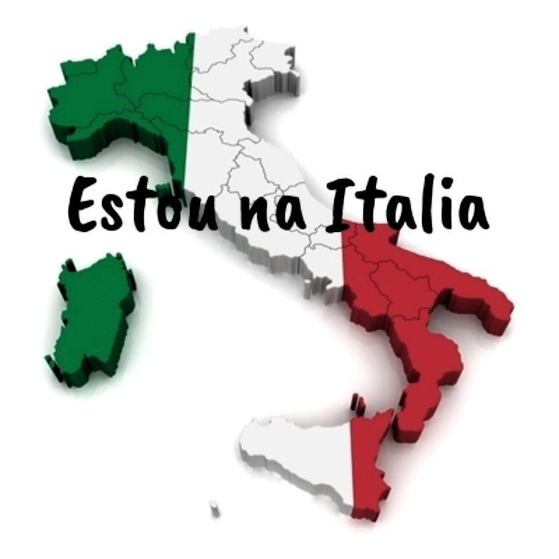 Estou na Itália
