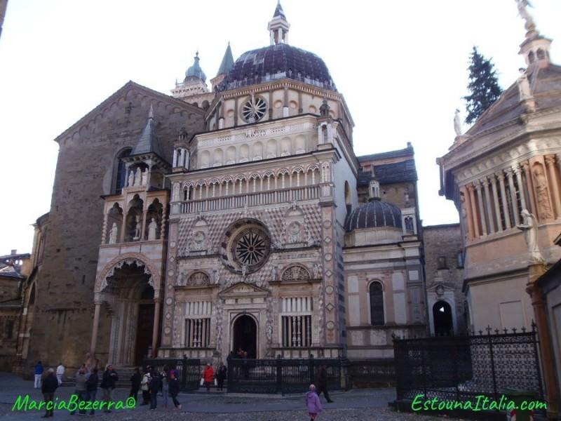 Cappella del Colleoni, a Basilica di Santa Maria Maggiore e o Batisterio